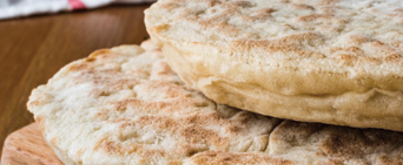 Ev Yapımı Pide Ekmeği Tarifi (Bazlama)