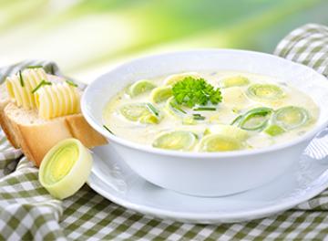 Pirasa Çorbası