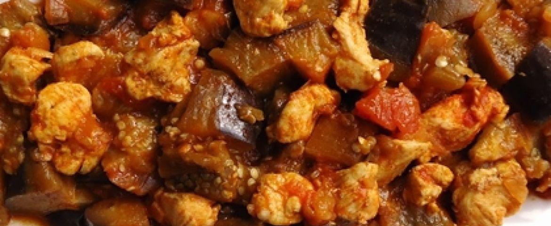 Tavuklu Patlıcan